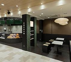 和カフェコーナー「高瀬茶屋本舗」